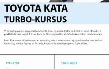 Toyota Kata kursus, Morten friis Jacobsen